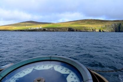 Arriving in Shetland