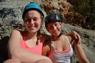 Climbing partners!