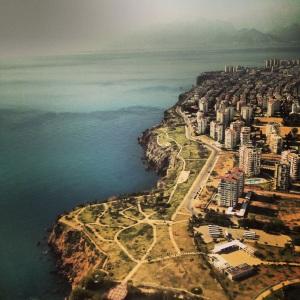 Landing in Antalya