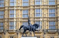 Horse statue....