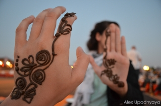 Henna sisters