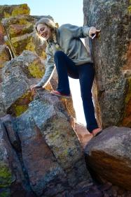 Climbing back down