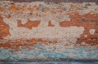 Painted brick