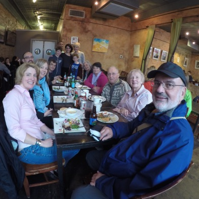 Big Family lunch at Fido