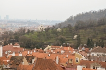 An overcast day in Prague
