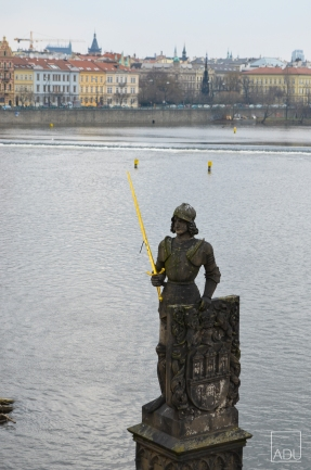 The Charles Bridge Statue