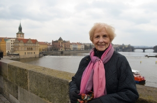Grandma on The Charles Bridge