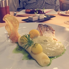 A wonderful meal at Art Nouveau