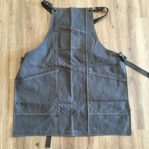 Black Canvas Apron