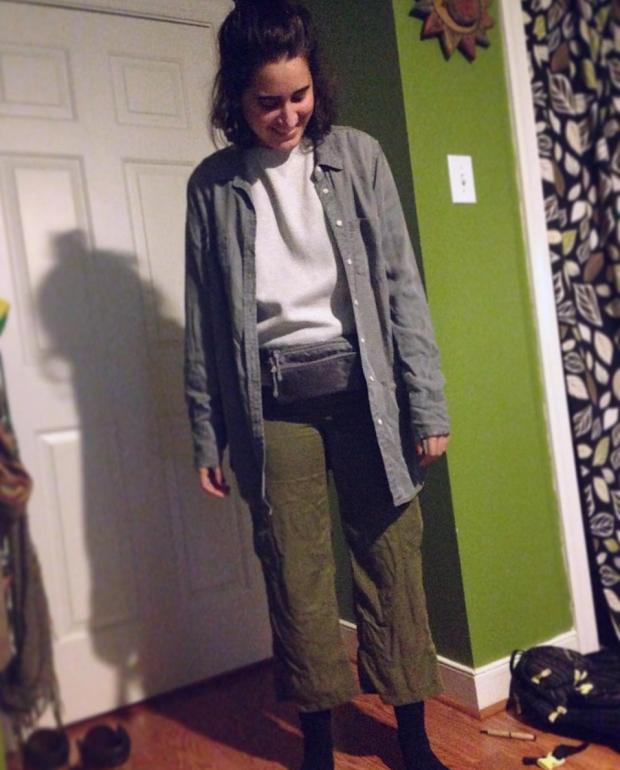 Kayla's Plane Outfit