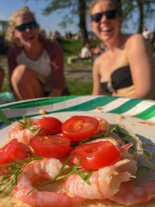 Shrimp Picnic- Happiness